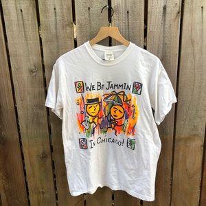 Vintage 90s Chicago Men's Jammin Shirt